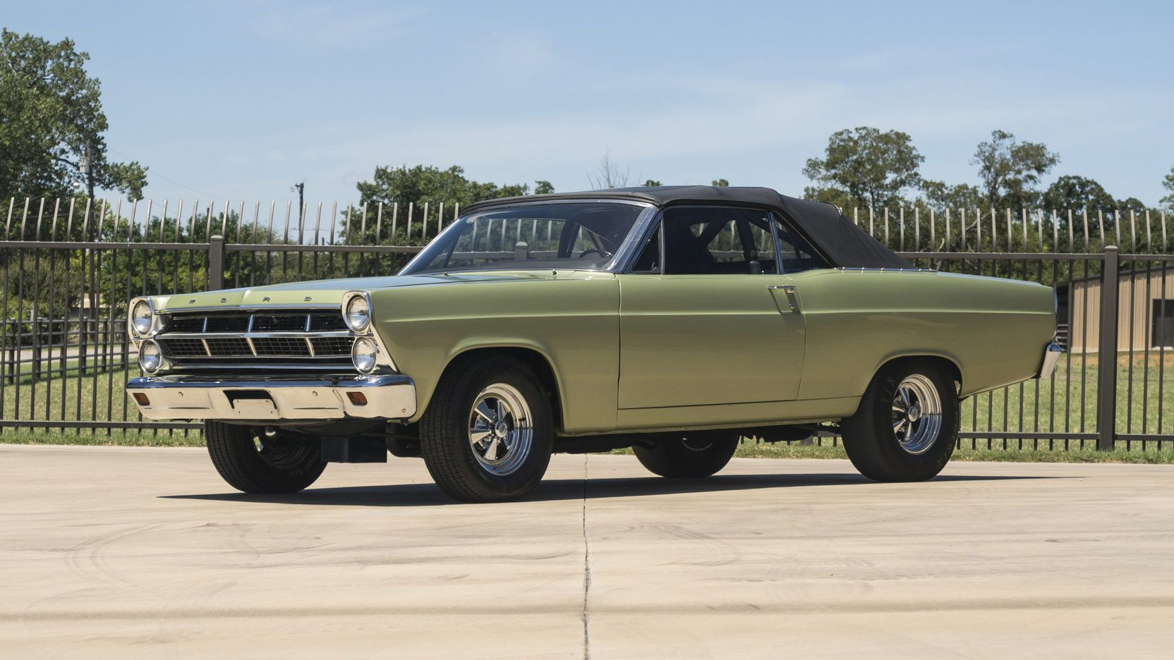 1967 Ford Fairlane Race Car Presented As Lot S162 At Dallas Tx Ford Fairlane Fairlane Ford