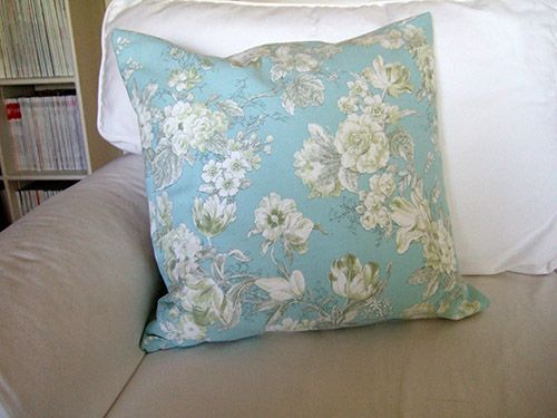 How To Sew A Pillow Cover Cool Diy Easy Pillow Cover With Zipper  I Can Just Do The Same Steps But Decorating Design