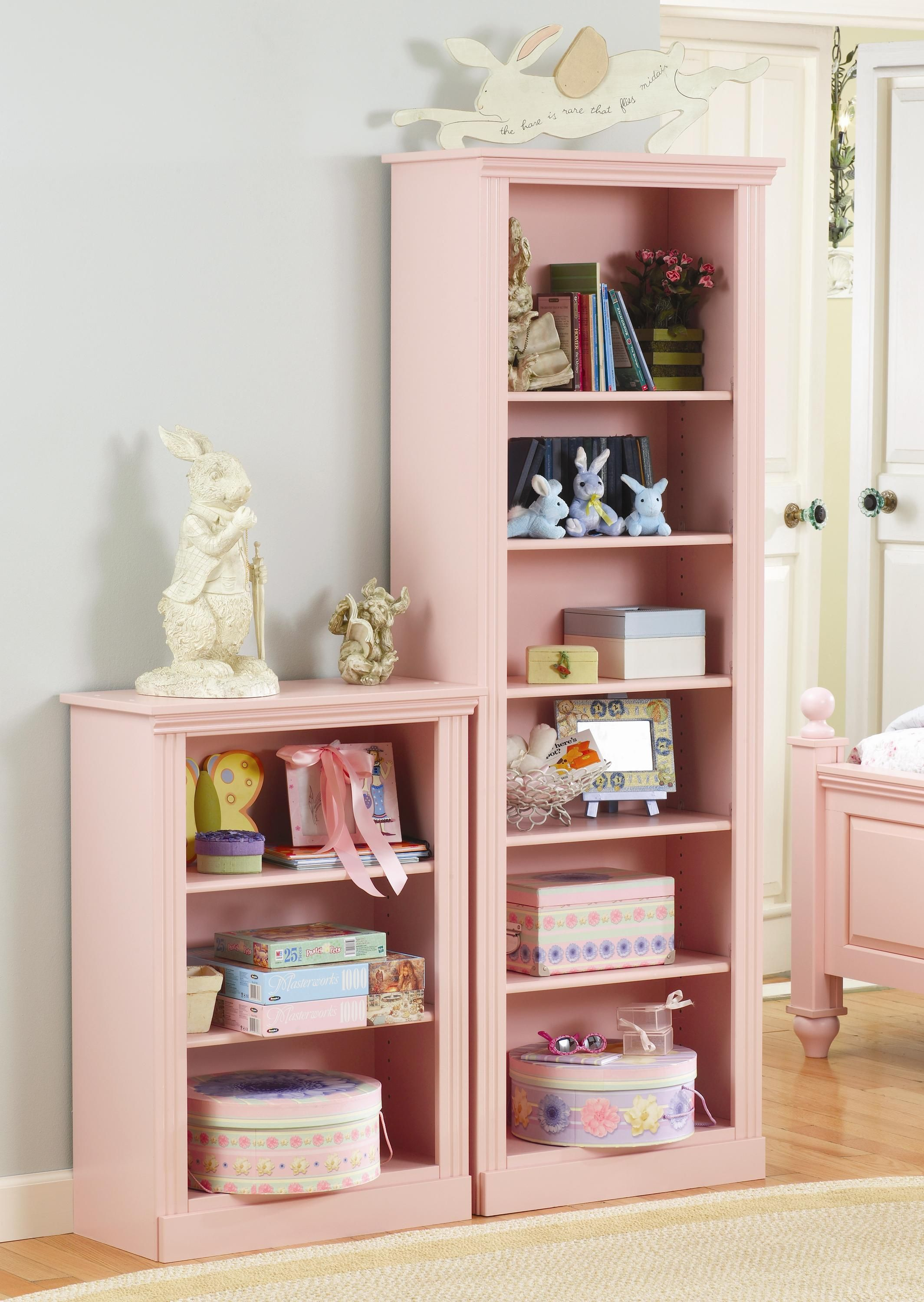 bookcase simple white butterfly and design home pink images