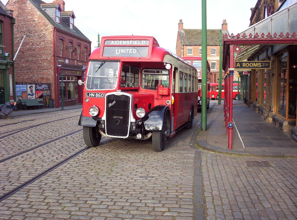 United Preserved Bristol L5G LHN 860 At Beamish Co Op