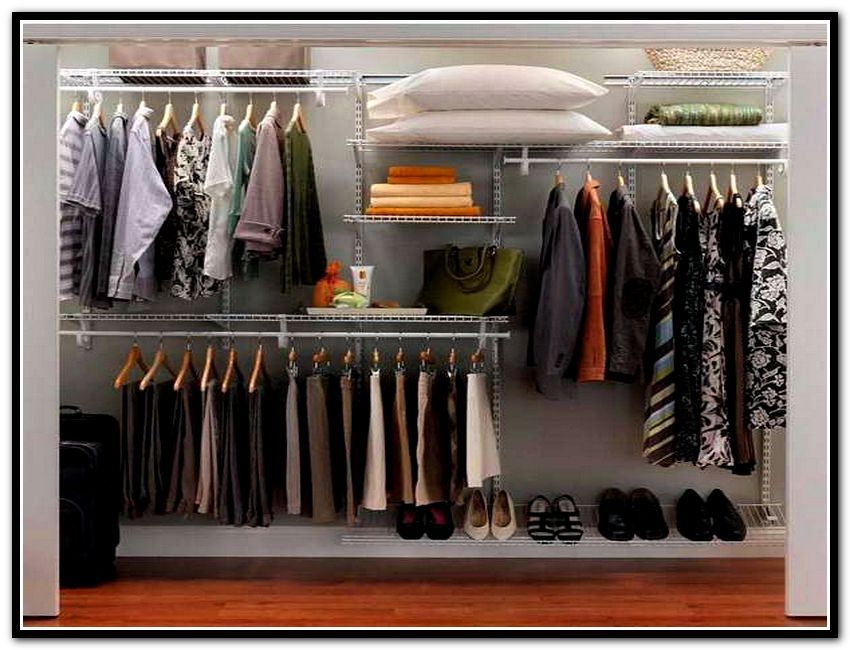 Top Shelf Closet Organizer