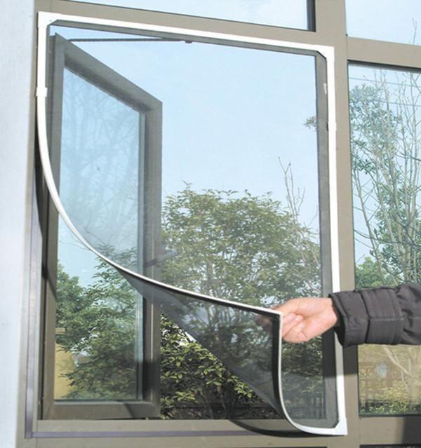 Insect Fly Bug Mosquito Door Window Net Netting Mesh Screen Sticky Velcro Tape Window Mesh Screen Window Mesh Mesh Screen