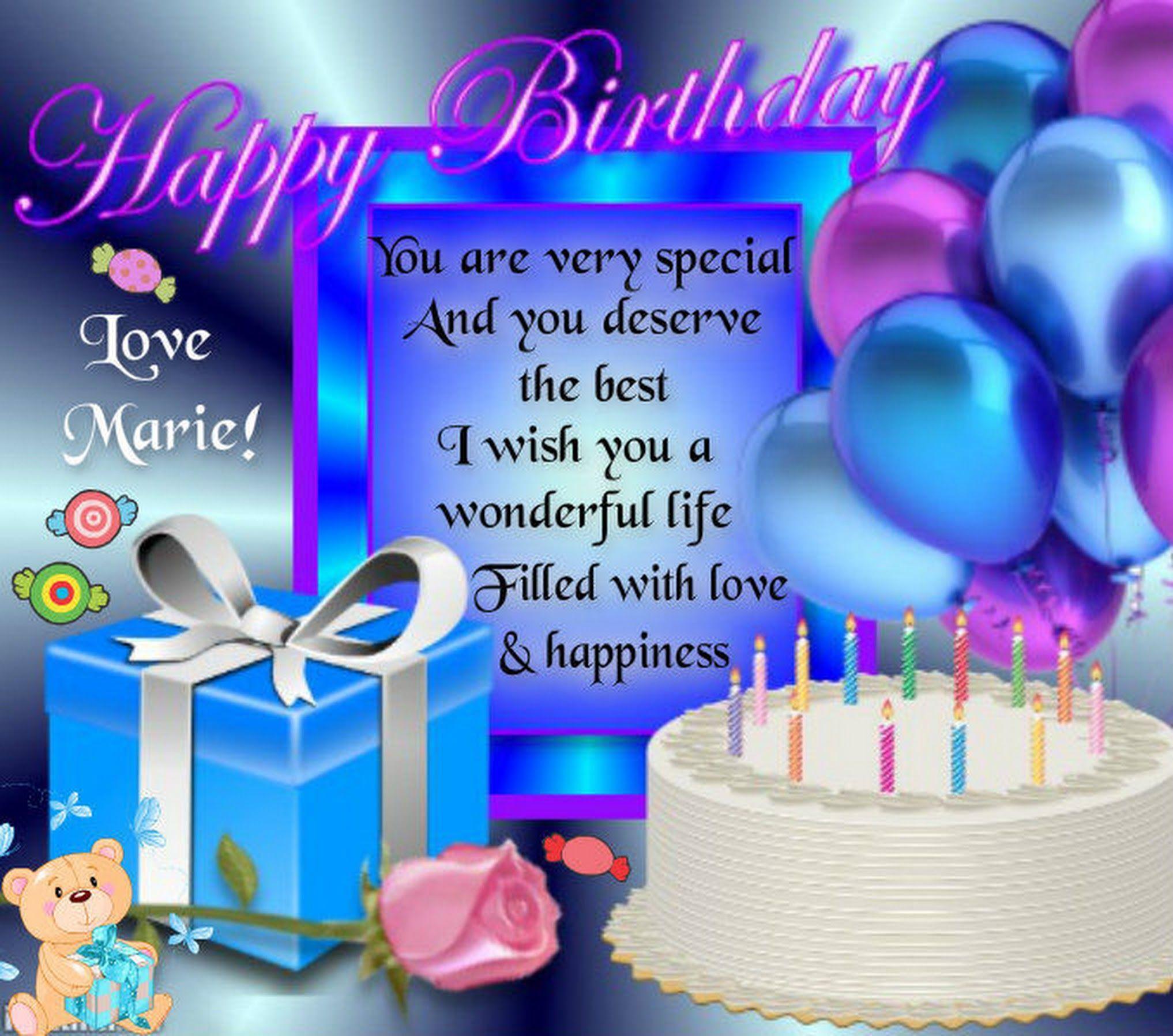 Сообщения поздравления на день рождения