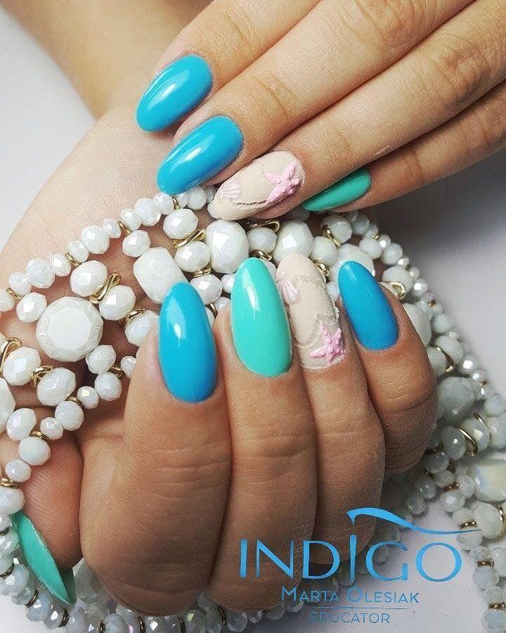 Pin by Indigo Nails UK on Indigo design | Nail art, Nails ...