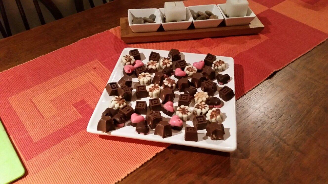 Bombones chocolates