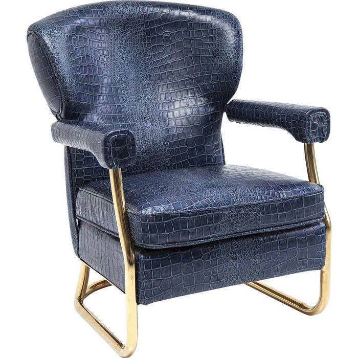 Arm Chair Orlando Croco - KARE Design