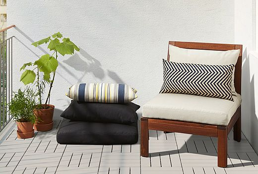 Whether you have a large garden or a small balcony, HÅLLÖ