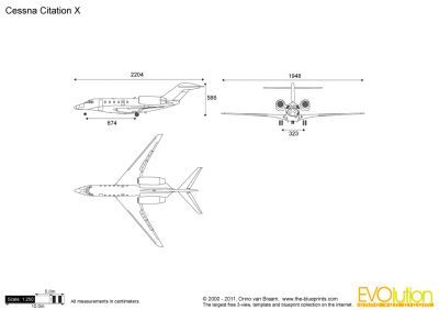 The Blueprints Com Vector Drawing Cessna Citation X Cessna Vector Drawing Citations