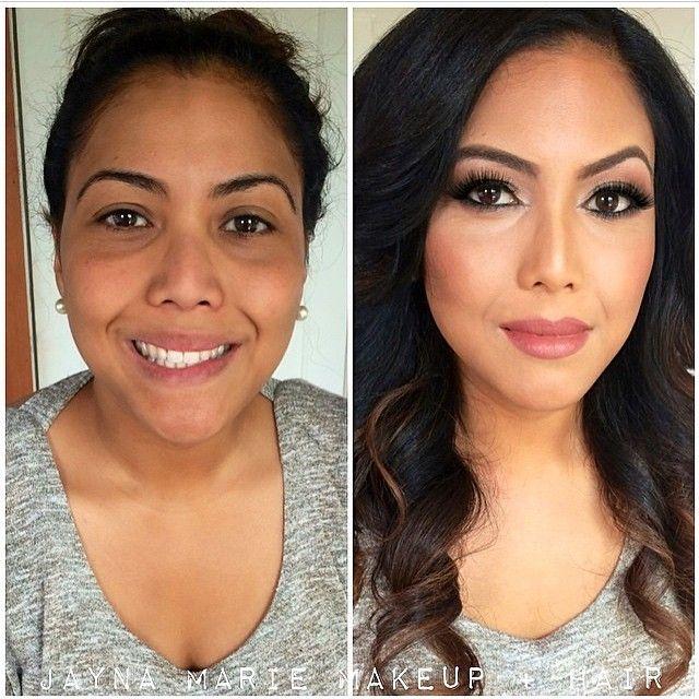 Hair And Makeup Transformation