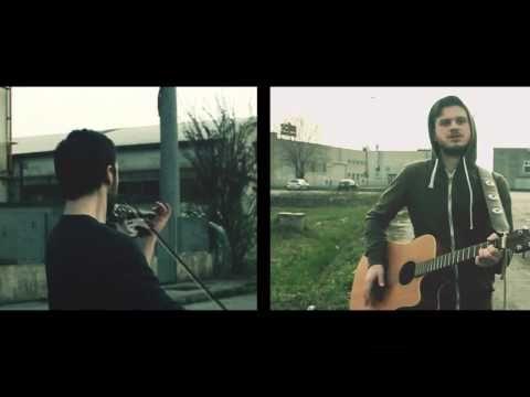 Imagine Dragons - Radioactive ( I Fratelli McFly acoustic violin guitar cover)