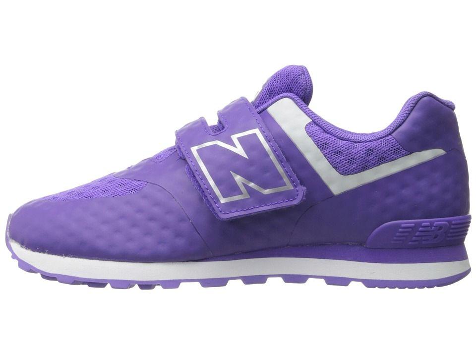 New Balance Kids 574 Breathe HL (Little Kid/Big Kid) Girls Shoes Purple