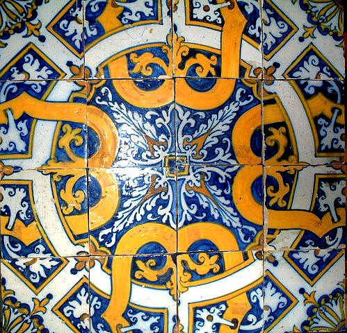 The Portuguese azulejos (tiles) are beautiful pieces of art.