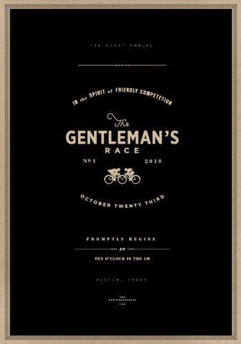 Gentleman's Race.
