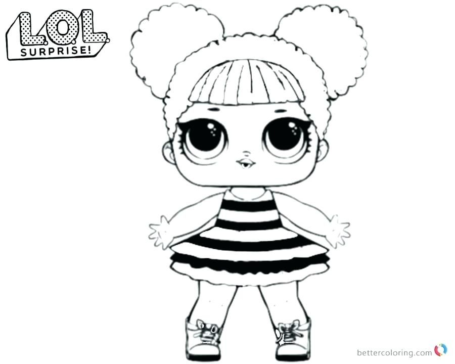 Printable coloring pages lol dolls Download them or