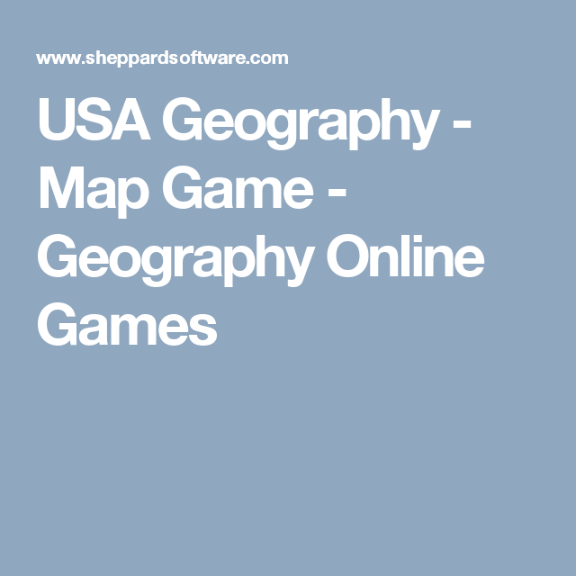 USA Geography Map Game Geography Online Games School Ideas - Us geography map game