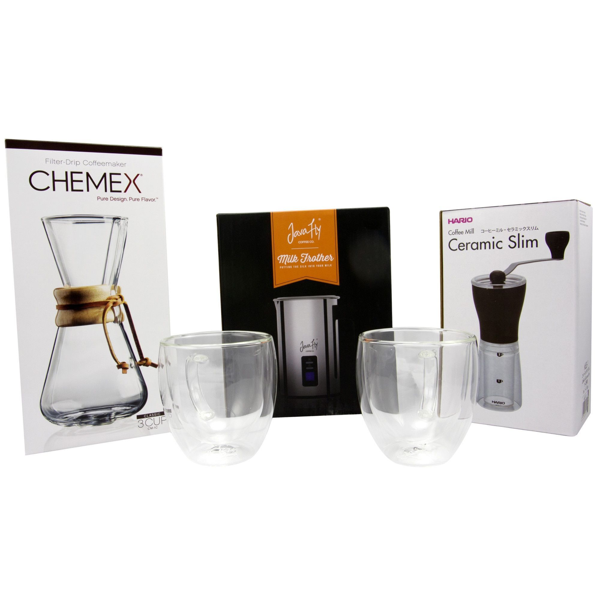 Specialist Coffee Maker Kit With Chemex 3cup Coffeemaker