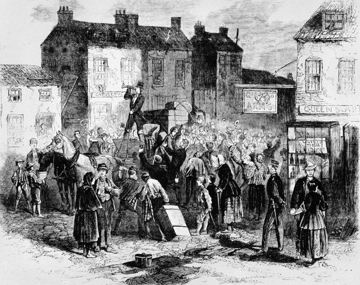 The Irish Famine – a summary