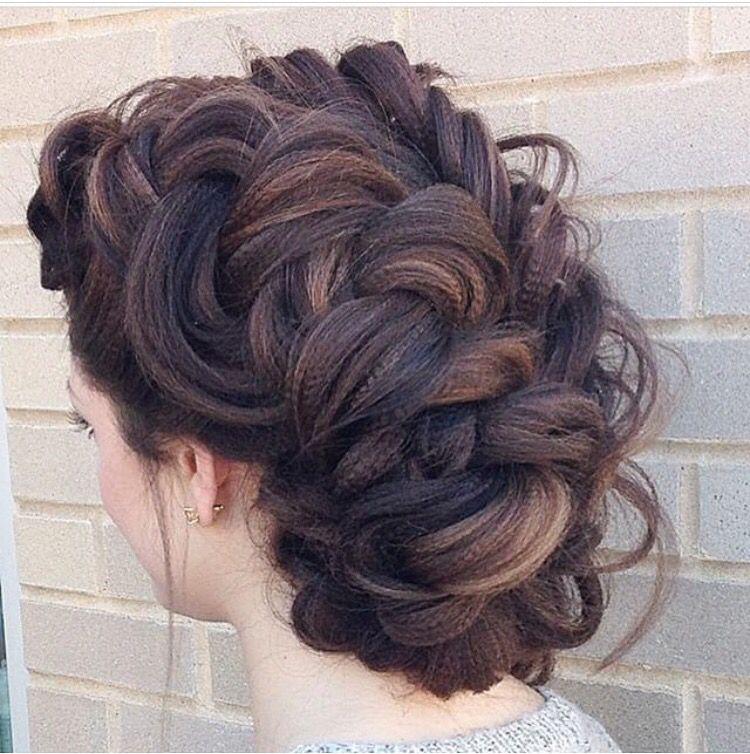 textured iron updo updos hair