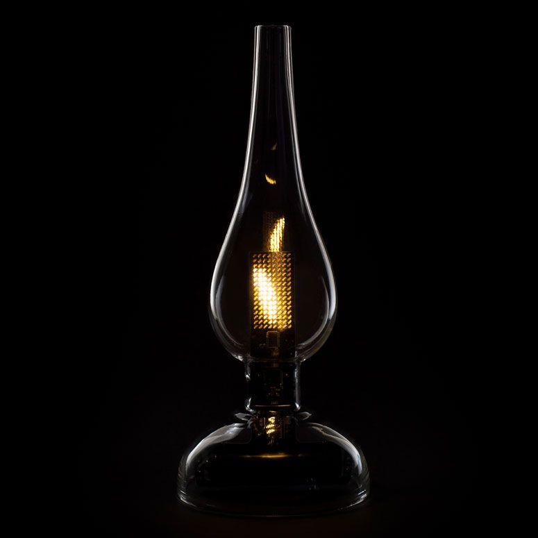 Midnight Oil Led Oil Lamp Oil Lamps Lamp Light Table