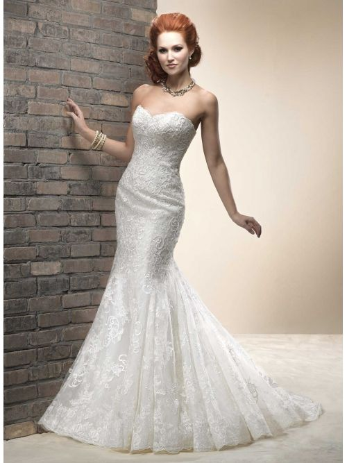 Extravagant Lace Wedding Dresses!! Affordable at bridal-buy.com