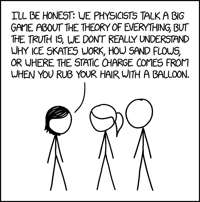 Xkcd Physics Confession For The Love Of Science Pinterest