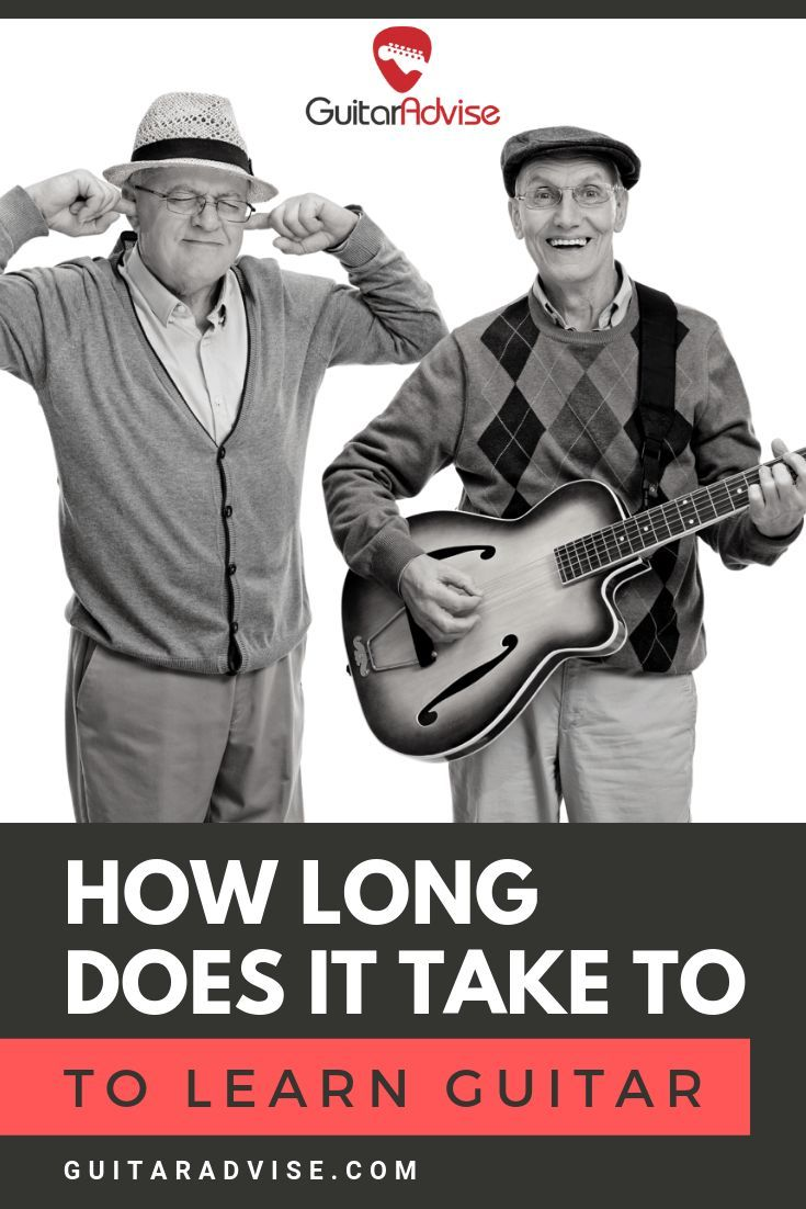 How Long Does it Take to Learn Guitar? | Learn guitar ...