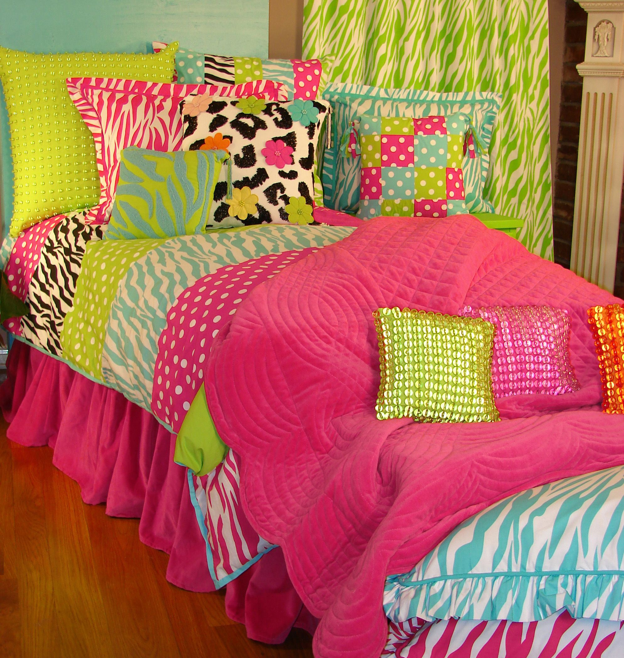 dye tie pin bedding ideas bright tween bed bedroom colors in and teen