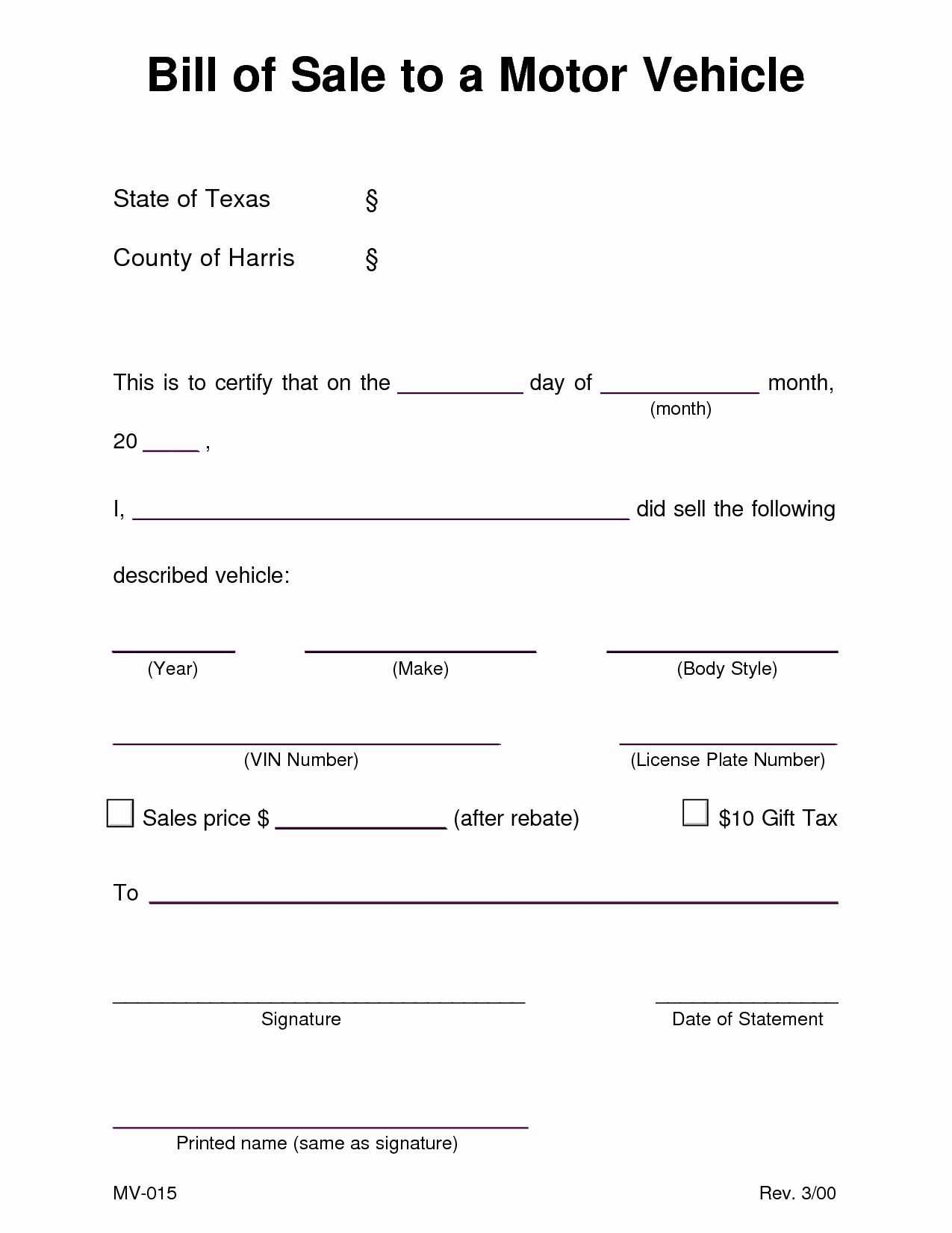 010 Car For Sale Template Free Vehicle Bill Of Printable Nc With Vehicle Bill Of Sale Template Word Bill Of Sale Template Word Template Transfer Letter Format