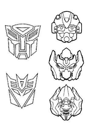 transformers mask for print - Pesquisa Google | Cumple transformers ...