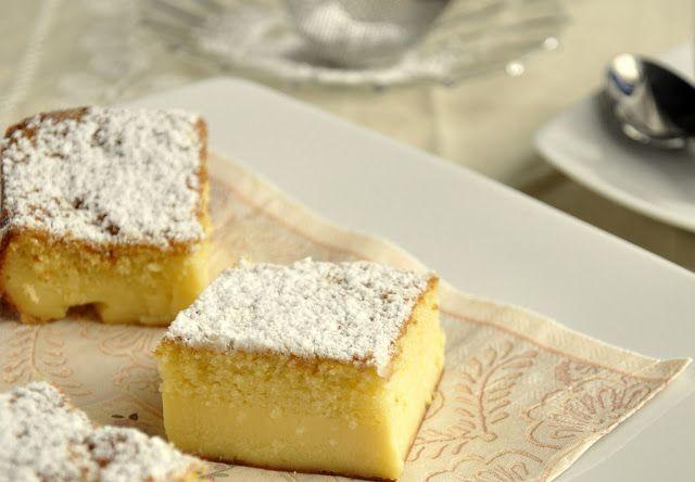 Lemon magic cake.  Que buena pinta tiene!!-