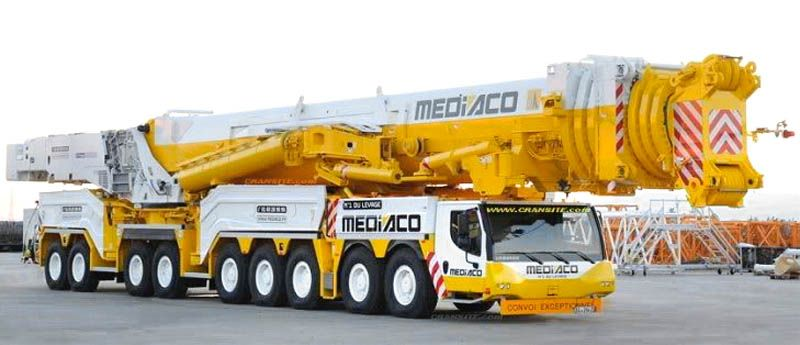 Bilderesultater for Heavy mobile crane