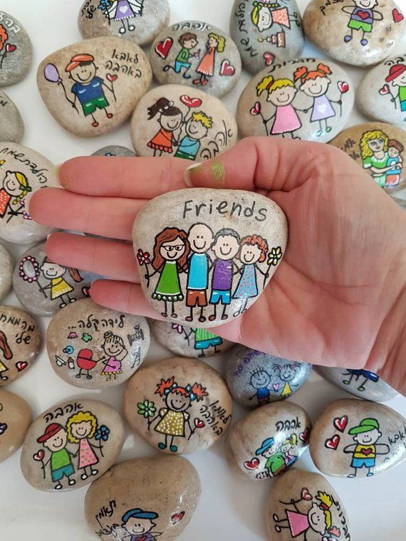 Photo of Inspirational gifts, Affirmation Stones, wedding favors, painted rocks, painted rock, Affirmation Stones, Inspirational Message Stones