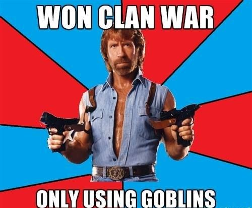 54e4a54e51b5e43d0bfcd89dd471d0e2 won clan war hahaha funny memes about clash of clans tap to see