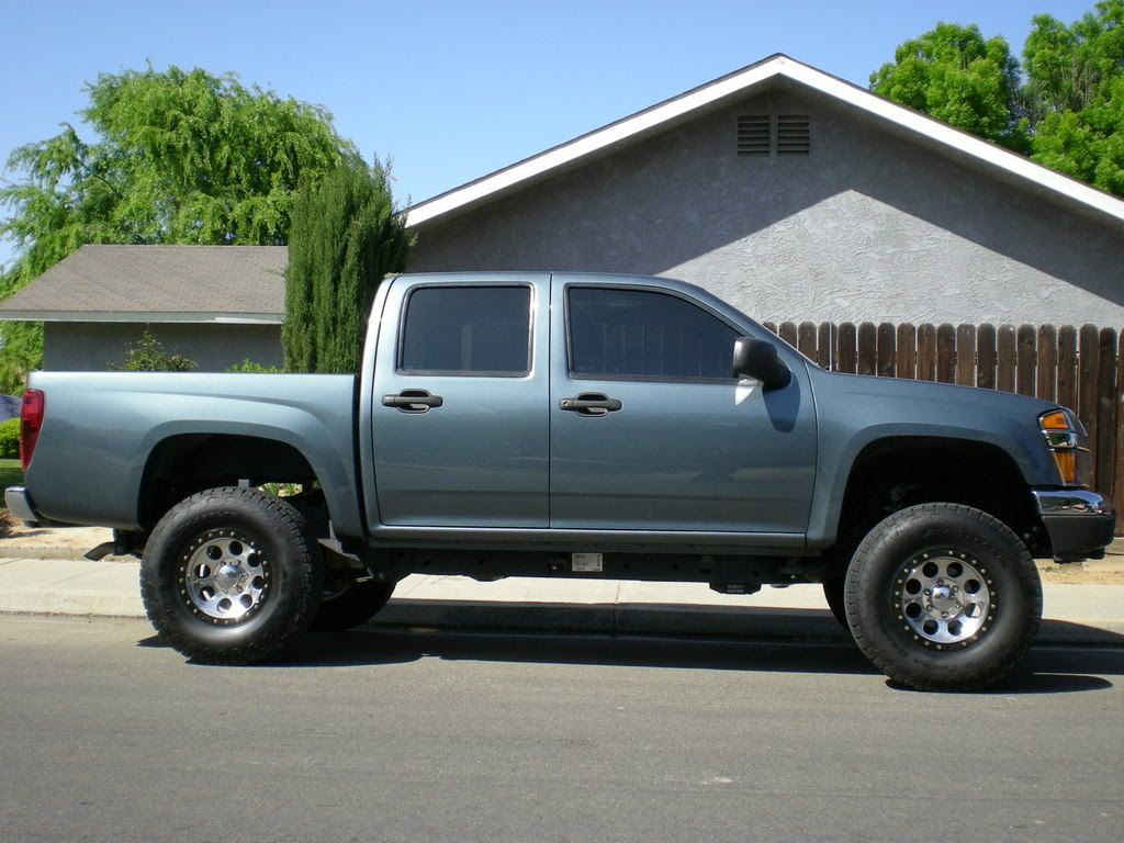 Chevy colorado lifted lifted colorados or canyons pics chevrolet colorado gmc canyon