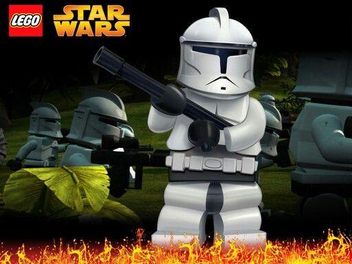 Lego Star Wars Lego Star Wars Star Wars Wallpaper Star Wars Clone Wars