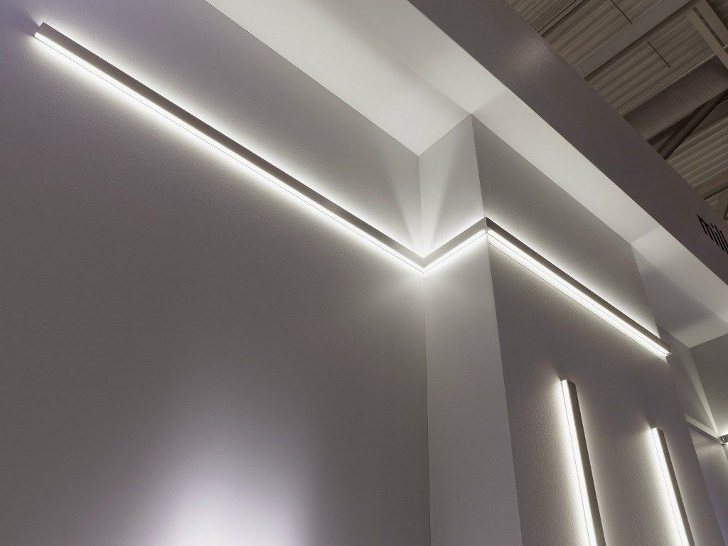 Recessed Linear Led Lighting Linear Lighting Contemporary Wall