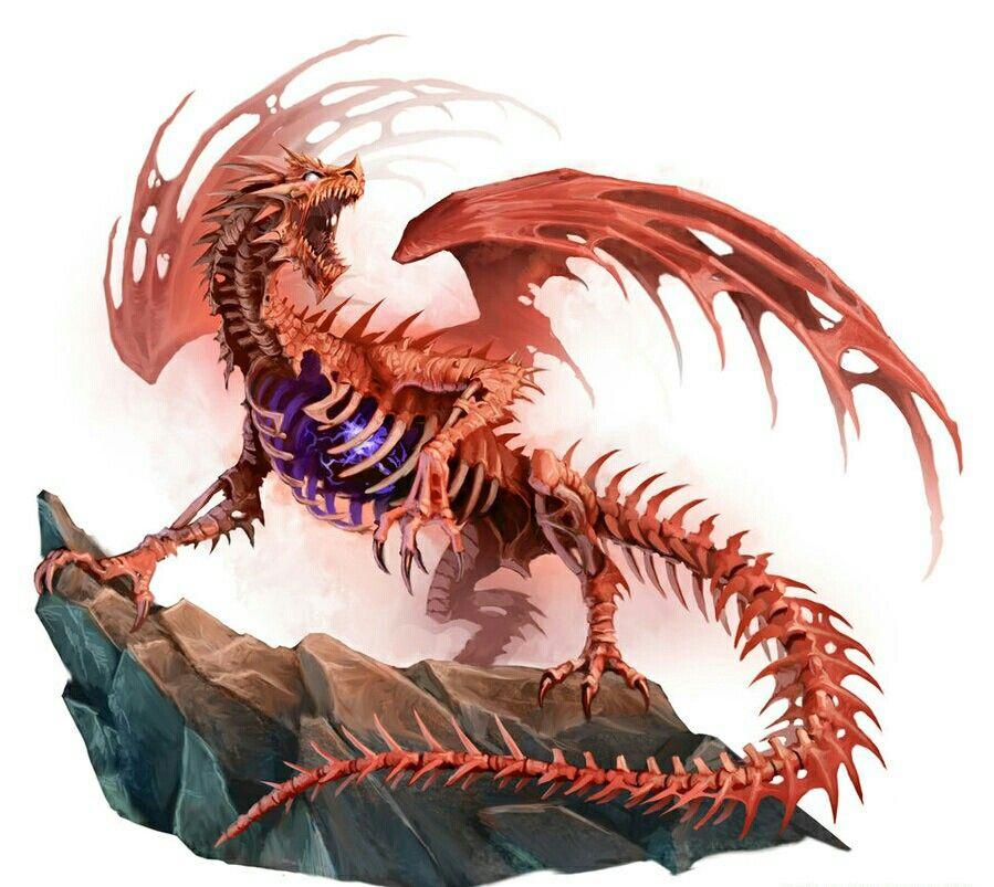 Dnd Red Dragon: Great Wyem Red Dragon Ravaner