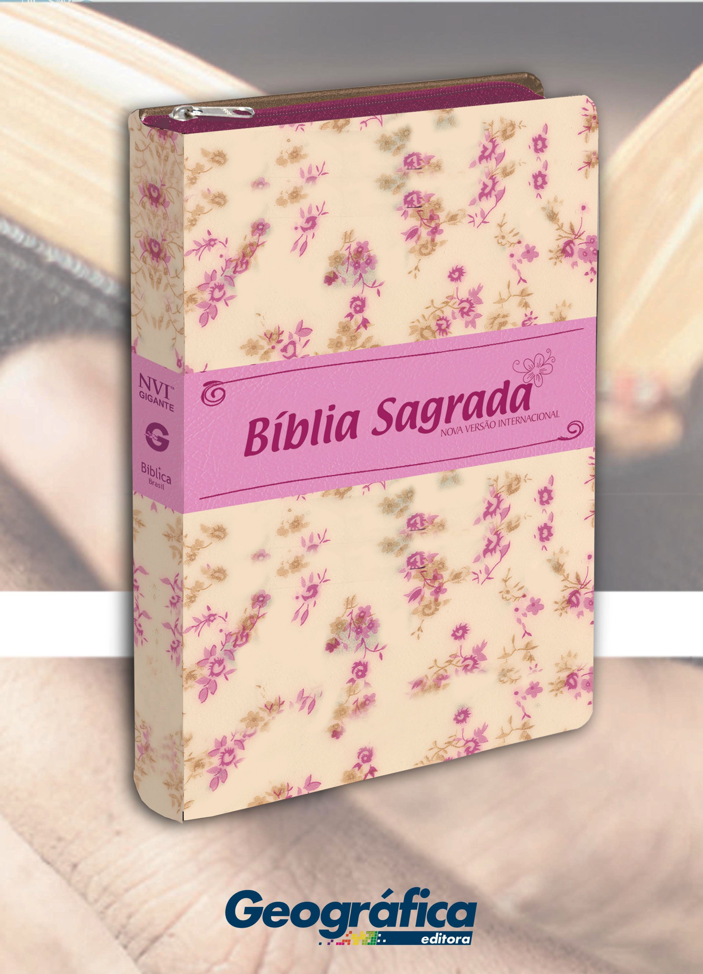 Biblia Nvi Luxo Floral Floral