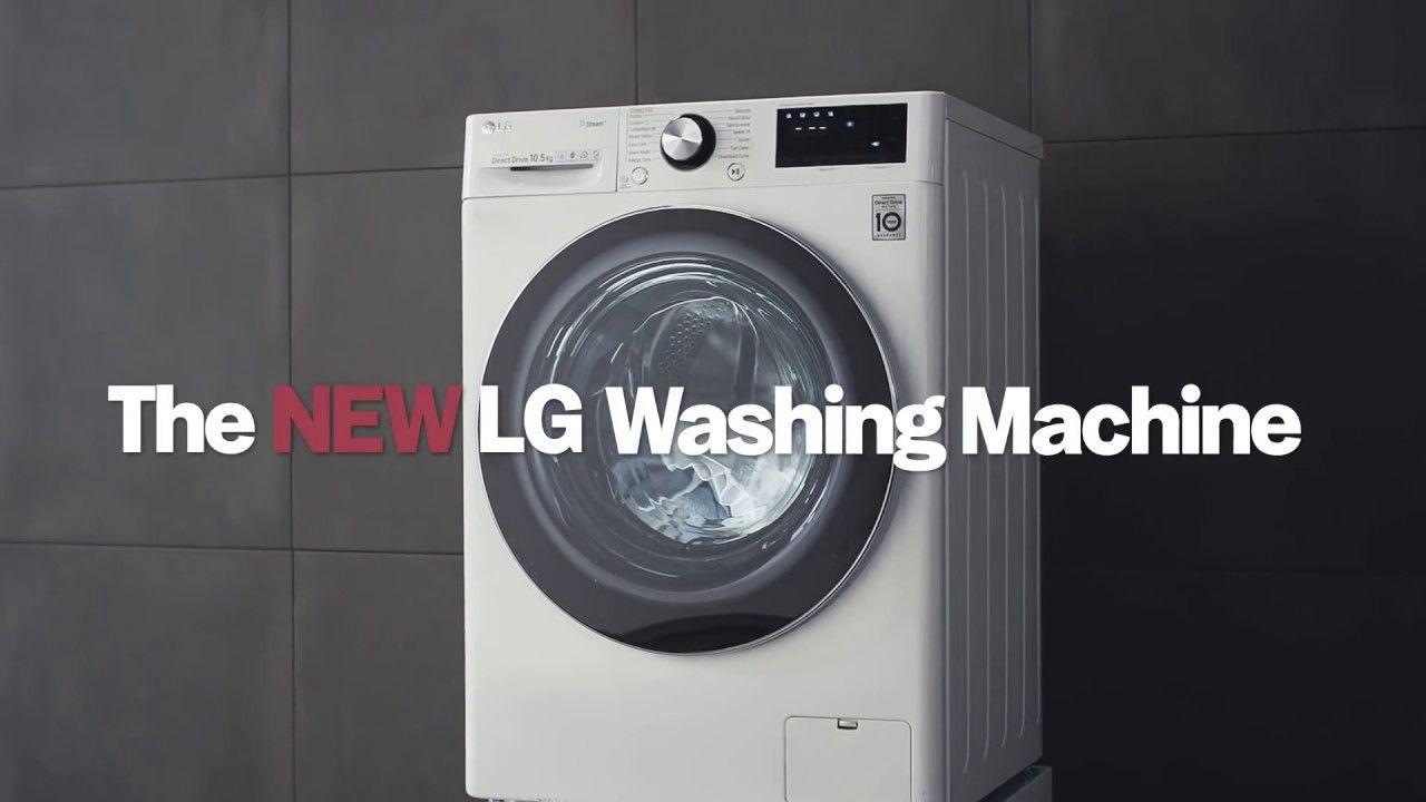 The New Lg Washing Machine Ai Dd Washing Machine Lg Washing