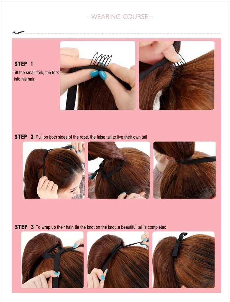 Httpebayitmfashion Wavy Drawstring Ponytail Hair