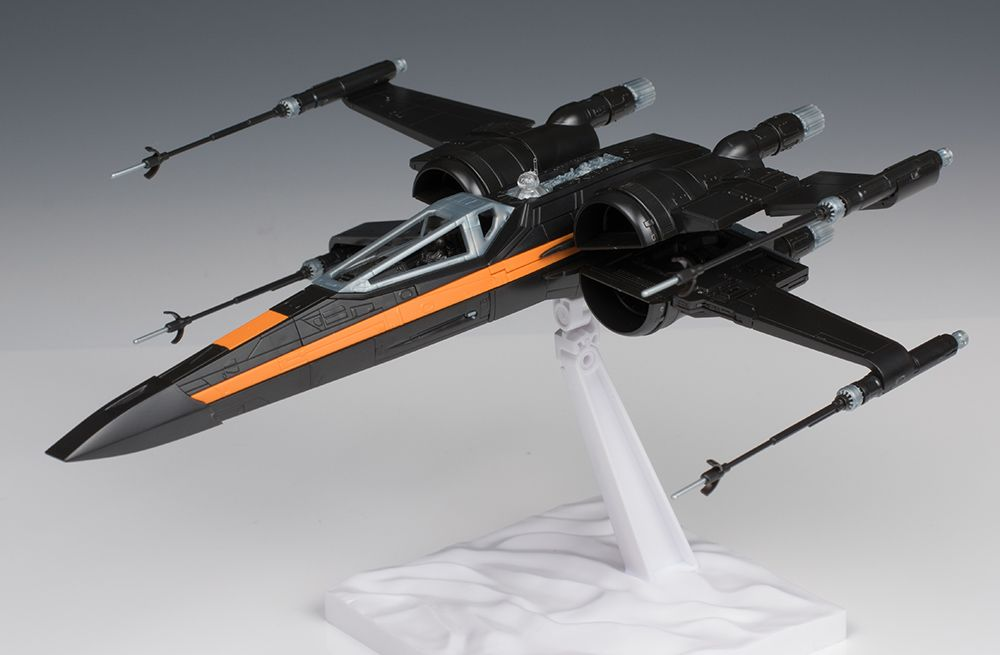 [FULL DETAILED REVIEW] Bandai x Star Wars The Force Awakens 1/72 POE'S X-WING FIGHTER: No.40 Big Size Images http://www.gunjap.net/site/?p=311256