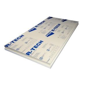 R Tech 1 1 2 In X 2 Ft X 4 Ft Foam Insulation 4 65 Foam Insulation Board Rigid Foam Insulation Foam Insulation