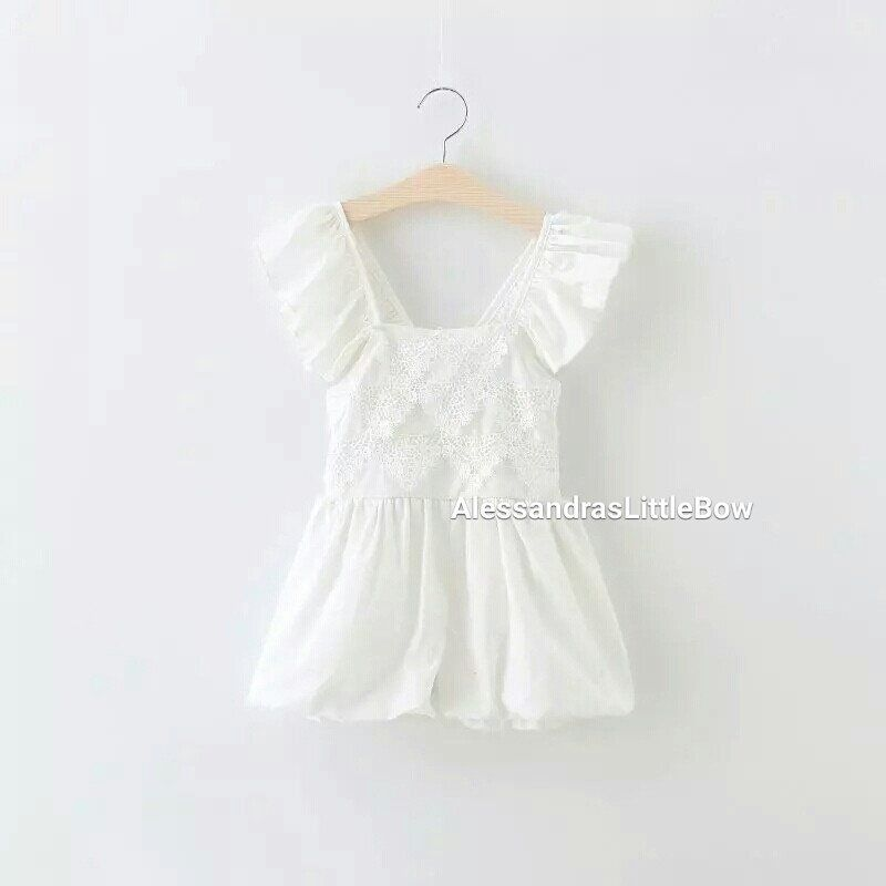 e5cf61608 Elegant bubble rompers ready to ship country chic rompers flower ...