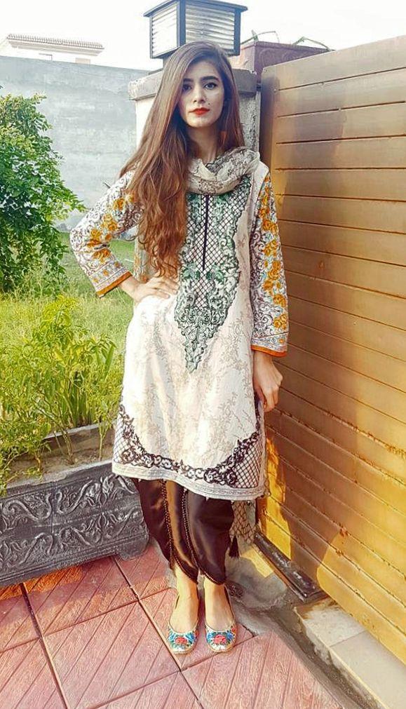 Shirt and dupatta @eastbreakout Tulip shalwar @eleganzaaaa ...