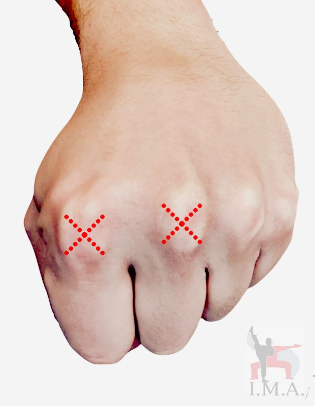 Quicktip: Punch with the index finger and middle finger