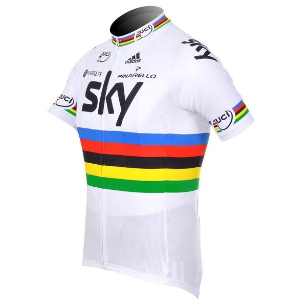 2012 Sky uci ig markets adidas pinarello Champion Cycling Jersey