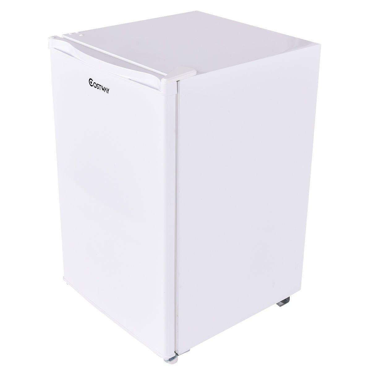 4.4 Cu. Ft. Compact Single Reversible Door Mini Refrigerator and ...