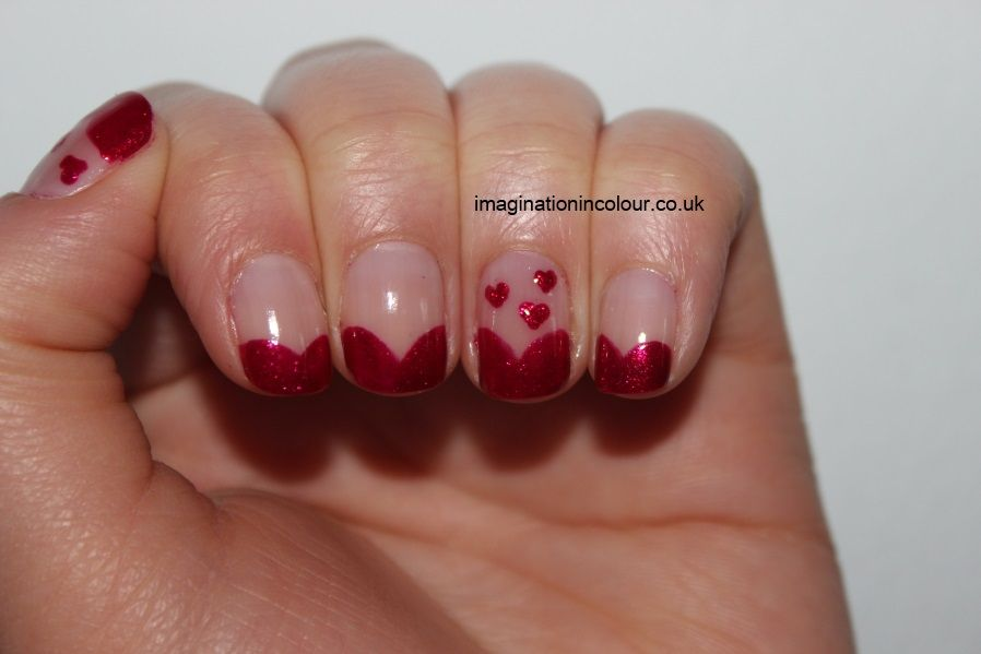 designs for nails only | ... tips OPI You Only Live Twice cranberry ...