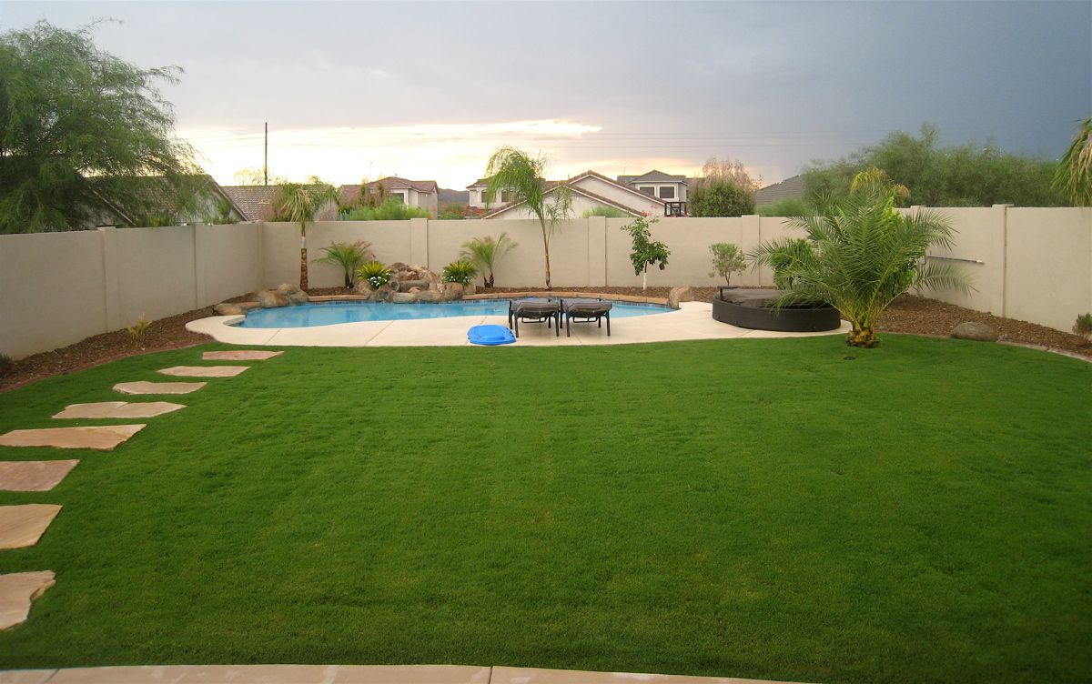 Exceptionnel Great Backyards | ... Of Grass? (maintenance, Gardens, Backyards)