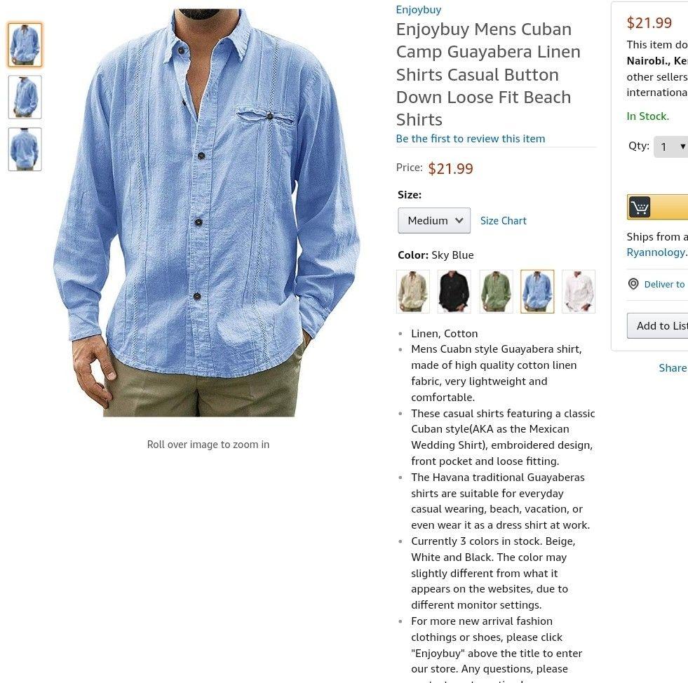 BYWX Men Checkered Loose Lapel Neck Casual Long Sleeve Button Down Dress Work Shirt
